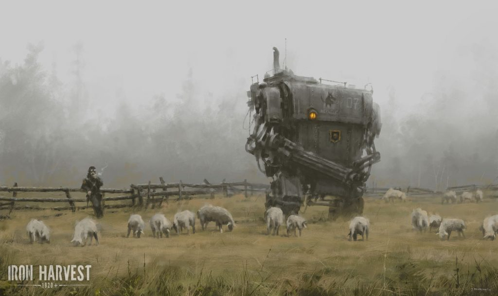 Iron Harvest: Artwork