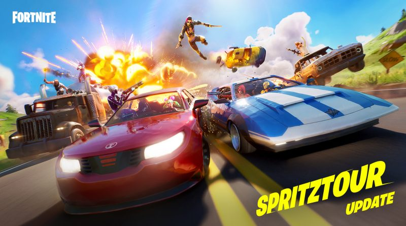 Fortnite: Spritztour-Update
