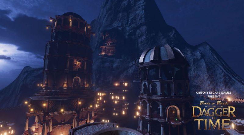 Prince of Persia: The Dagger of Time – VR Escape Room jetzt verfügbar