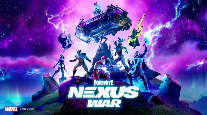 Fortnite: Nexus War Cover