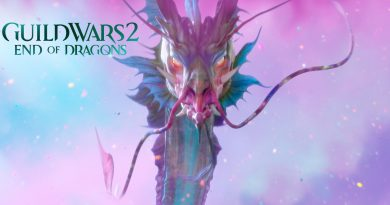 Guild Wars 2 - End of Dragons Cover