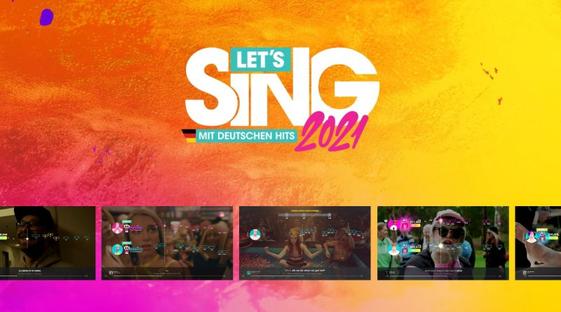 Let's Sing 2021 Cover