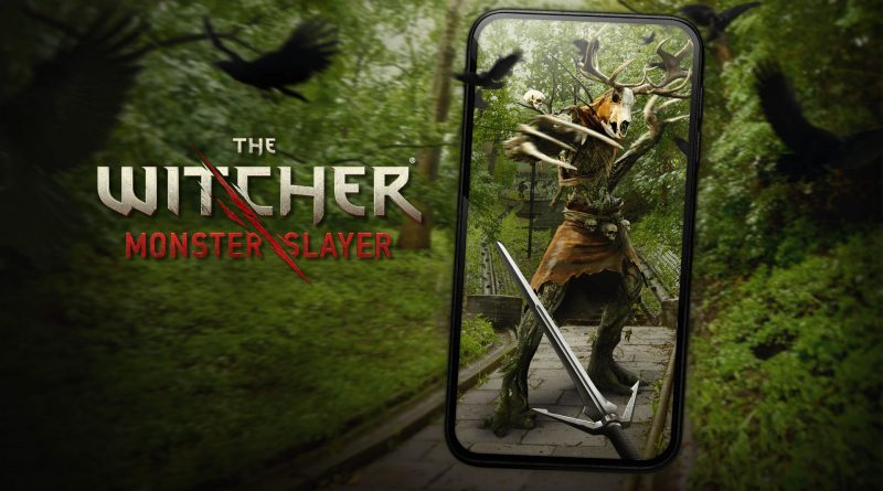 The Witcher - Monster Slayer Cover