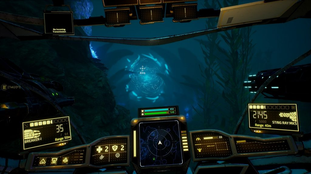 Aquanox Deep Descent: Screenshot