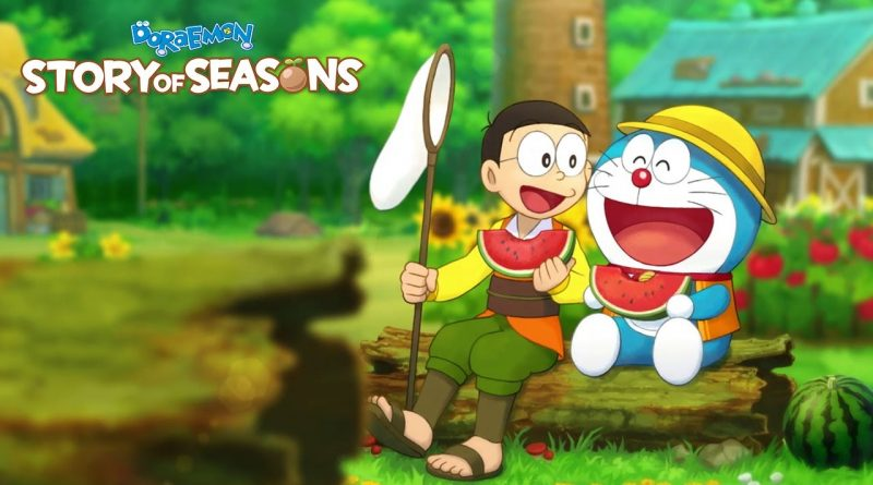 Doraemon Story of Seasons Cover