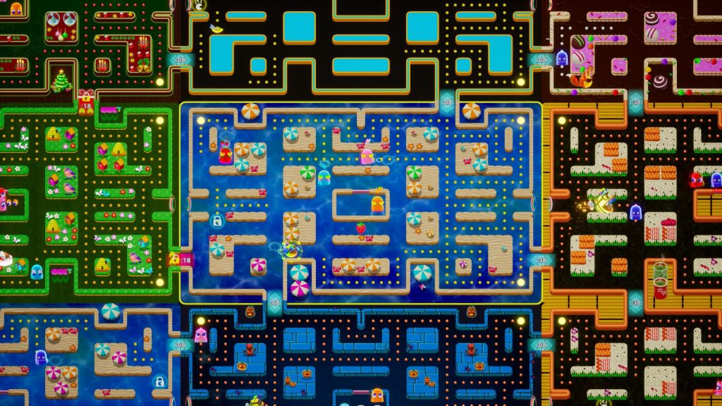 PAC-MAN MEGA TUNNEL BATTLE: Screenshot