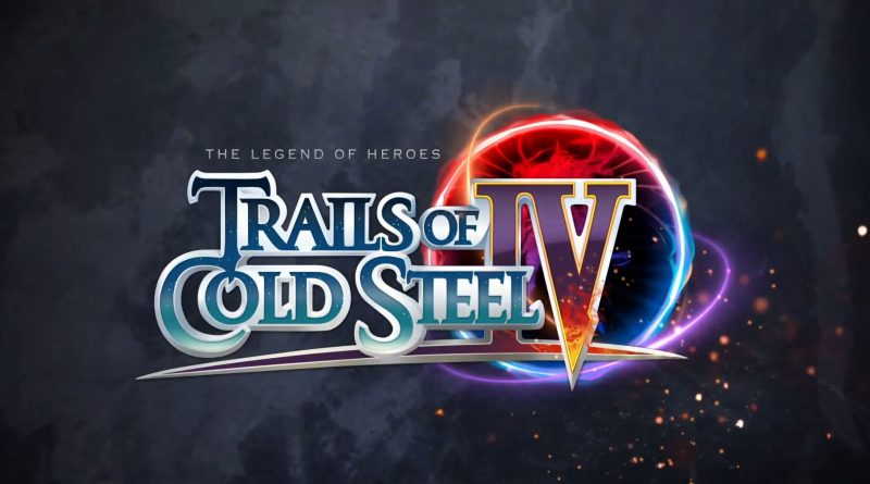 The Legend of Heroes: Trails of Cold Steel IV ab sofort für PS 4
