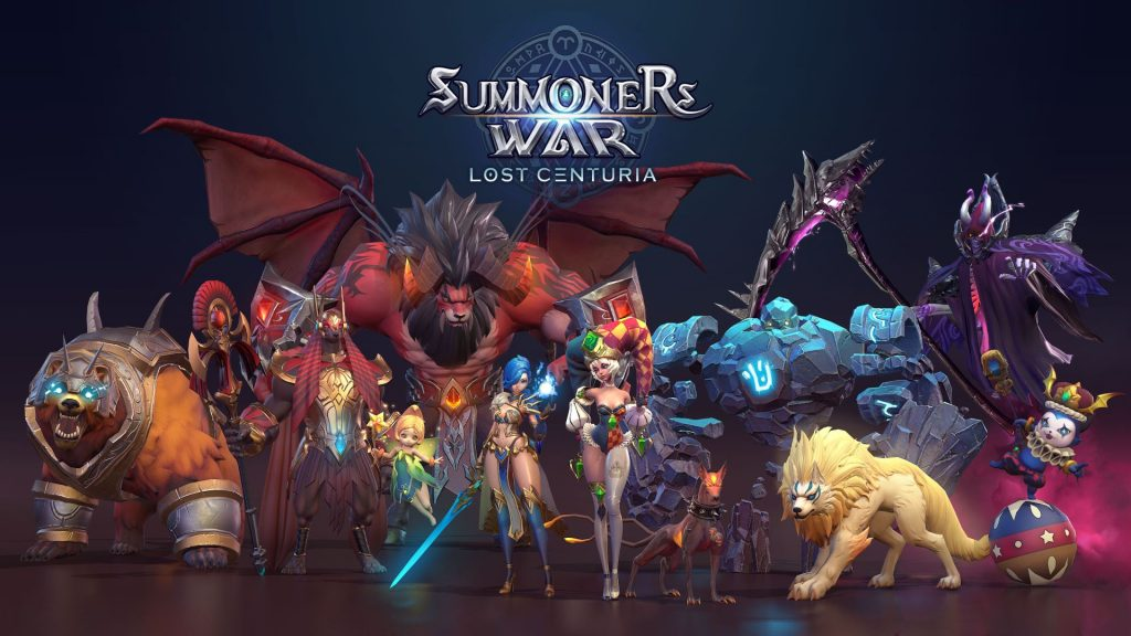 Summoners War: Lost Centuria Konzeptgrafik