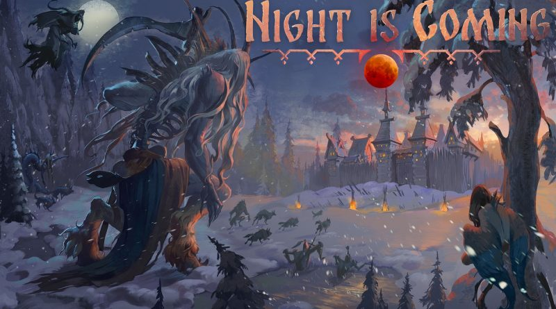 Night is coming Cover
