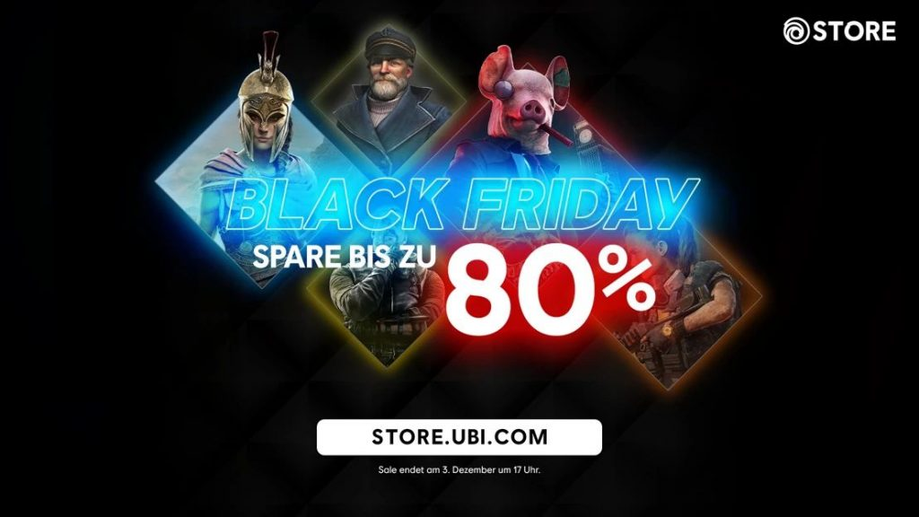 Black Friday Sale bei Ubisoft